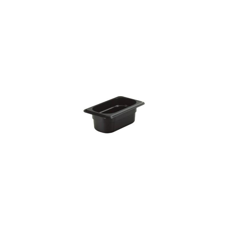 Gastronádoba polykarbonátová GN 1/9 065, černá
