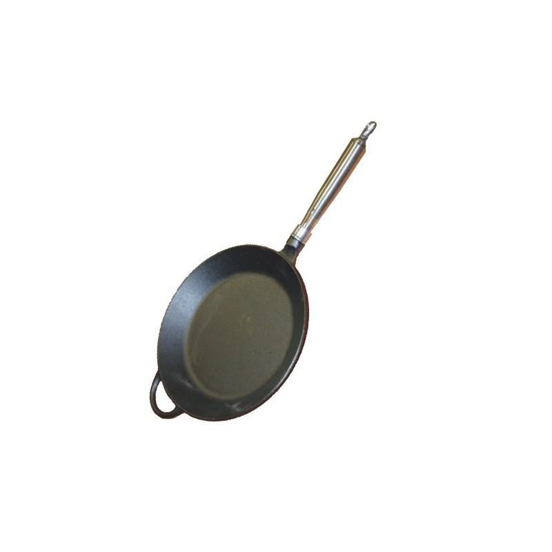Pánev litinová kulatá pr pr.28 cm