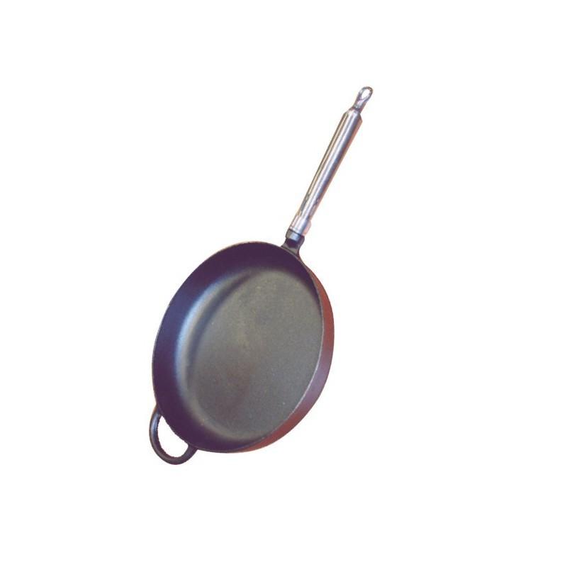 Pánev litinová kulatá pr.28 cm